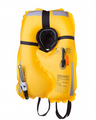 Seago 3Dynamic 190N Pro-Sensor Lifejacket Automatic Carbon and Black BS EN ISO 12402-3